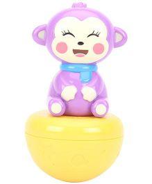 Tumbling Musical Toy - Purple Yellow