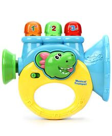Baby Musician Trumpet Toy - Multi Color