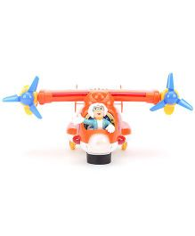Cartoon Jet Toy Plane - Orange