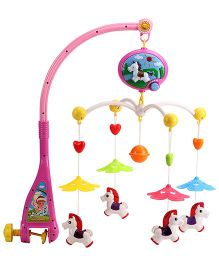 Music Cot Mobile Horse Animal Dangles - Multi Color