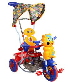 Mee Mee Kitty Tricycle With Push Handle And Basket Red - BT-820 A