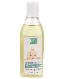 BON Baby Oil Aloevera And Green Apple - 100 ml