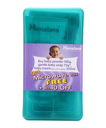 Himalaya Herbal Baby Gift Combo In Microwave Box - Pack Of 3