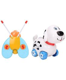 Puppy Remote Control Toy - White