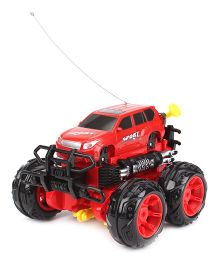 Super Acrobatics Remote Controlled Car - Red