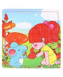 Jigsaw Puzzle Multicolour - 36 Pieces