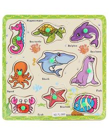 Water Animals Puzzle Set - 9 Pieces