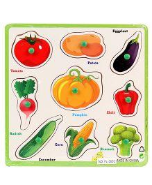 Vegetable Puzzle Set - 9 Pieces