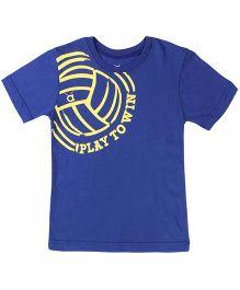 Anthill Soccer T-Shirt - Blue