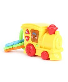 Musical Toy Train Engine Rattle - Yellow
