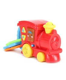 Musical Toy Train Engine Rattle - Red