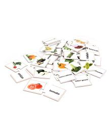 Vegetable Puzzles Multi Color - 30 Pieces