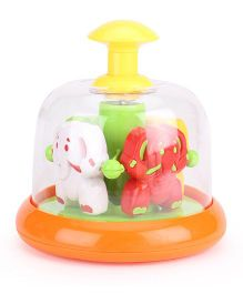 Push N Spin Toys - Muti Color