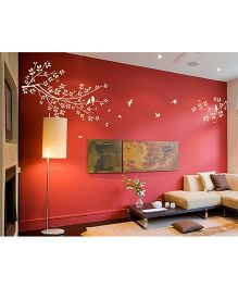 WallDesign Longing A Branch Ivory Wall Sticker