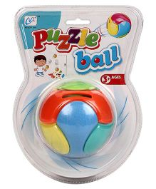 Playmate Puzzle Ball Piggy Bank - Multicolored