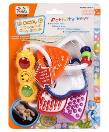 Playmate Rattler Teether With Light (Color May Vary)