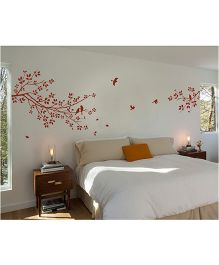 WallDesign Longing A Branch Brown Wall Sticker