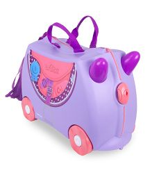 Trunki Ride On Suitcase Blue Bell - Purple