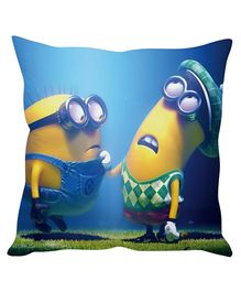 Stybuzz Minion Cushion Cover Blue And Yellow - FCC00021
