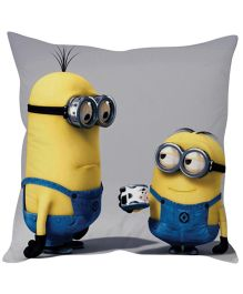 Stybuzz Minion Cushion Cover Yellow And Blue - FCC00022