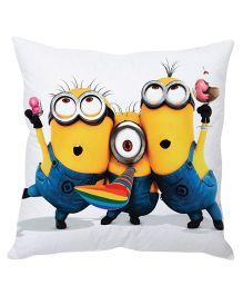Stybuzz Minion Cushion Cover Multicolor - FCC00025