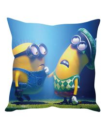 Stybuzz Minion Cushion Cover Blue And Yellow - FCCS00021