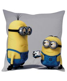 Stybuzz Minion Cushion Cover Yellow And Blue - FCCS00022