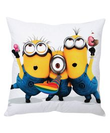 Stybuzz Minion Cushion Cover Multicolor - FCCS00025
