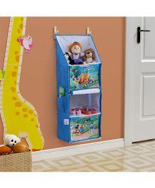Disney Multipurpose Foldable Hanging Rack - Blue