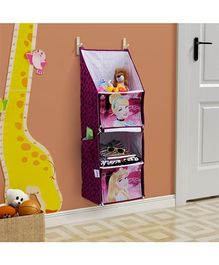 Disney Princess Foldable Hanging Rack - Dark Purple