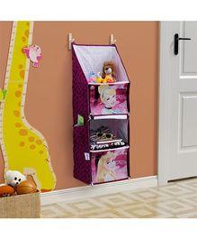 Disney Princess Foldable Hanging Rack - Dark Purple