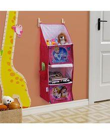 Disney Princess Multipurpose Foldable Hanging Rack - Pink