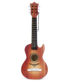 Wooden Guitar - Light Brown