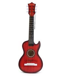 Musical Guitar Toy - Brown