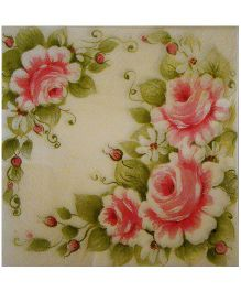 ShopAParty Rose Garden Napkins - Multicoloured