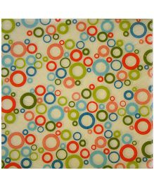 ShopAParty Multi Circles Napkins - Multicoloured