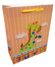 ShopAParty Gift Bag Baby Giraffe - Multicoloured