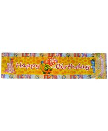 ShopAParty Birthday Banner - Multicoloured