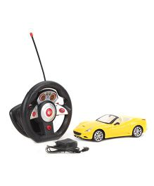 Fast Racing Remote Controlled Car - Yellow