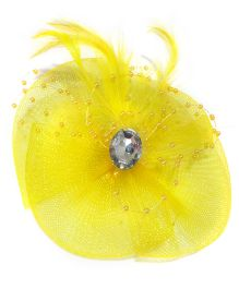 Aayera's Nest English Hat Style Clip - Yellow