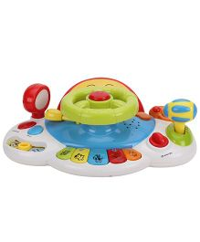 Baby Musical Toy Car - Multi Color
