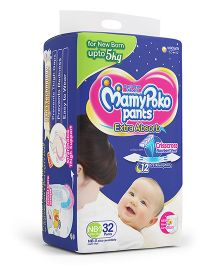 Mamy Poko Pant Style Diapers Newborn - 32 Pieces