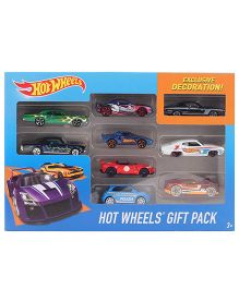 Hot Wheels Car Set - 9 Cars