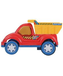 Kids Zone King Dumper Friction Powered Toy - Red & Yellow