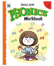 Macaw Phonics Workbook Level 4 - English