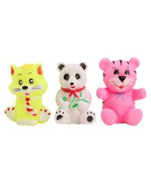 Animal Baby Bath Toys Pack Of 3 - Multicolour