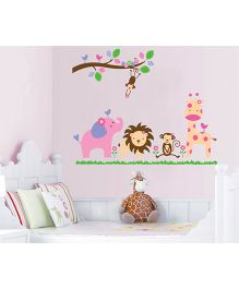 Nidokido Jungle Wall Sticker - Multicolour