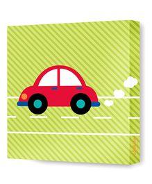 Nidokido Transport Canvas Art - Multicolour