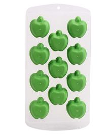 Apple Ice Cube Tray - Green White