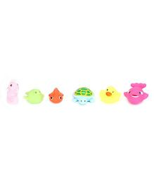 Sea Animals Baby Bath Toys Pack Of 6 - Multicolour